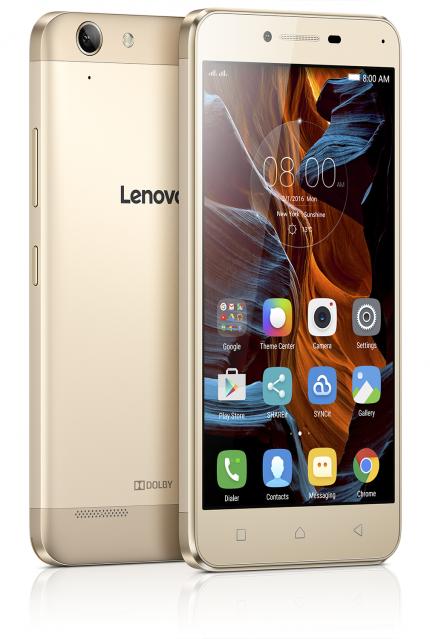 Lenovo представила недорогие металлические смартфоны Vibe K5 и Vibe K5 Plus