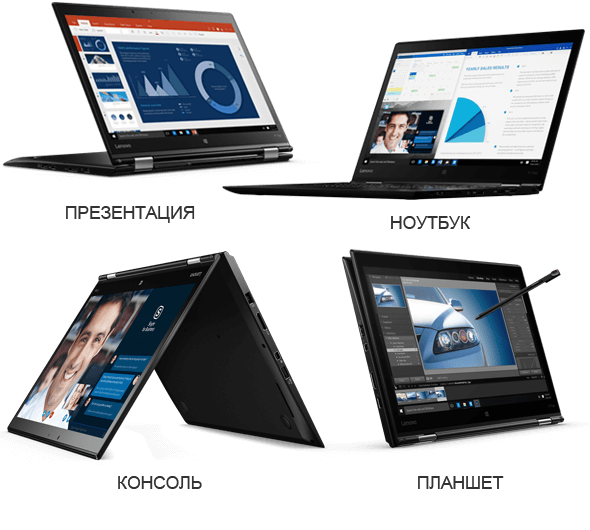 ThinkPad X1 Yoga адаптируется под ваши задачи