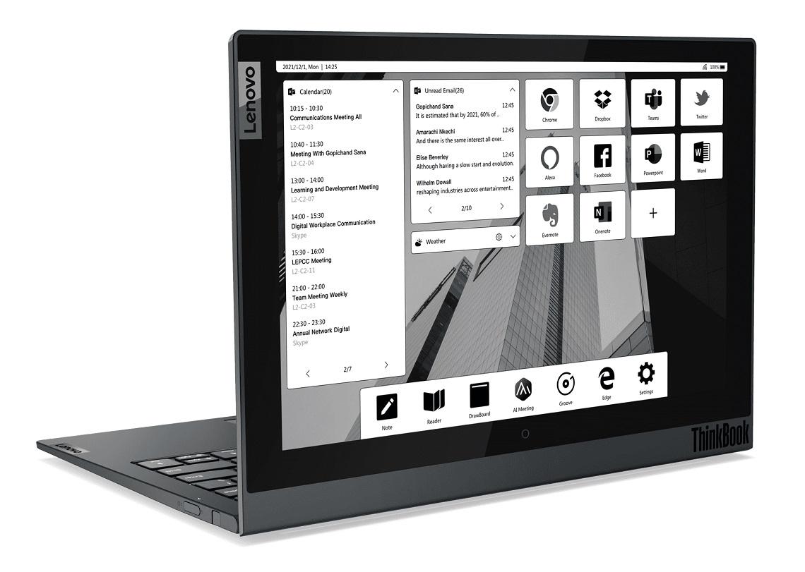 Lenovo представляет новый ThinkBook