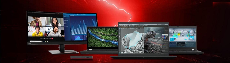 Lenovo запускает новые мобильные рабочие станции