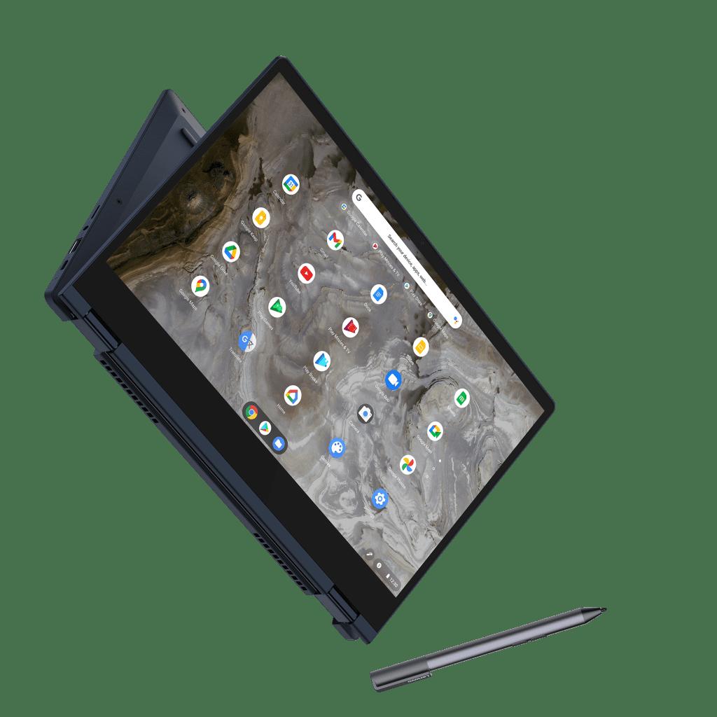 Chromebook IdeaPad Flex 5i (13 дюймов, 6 дюймов) в цвете Abyss Blue