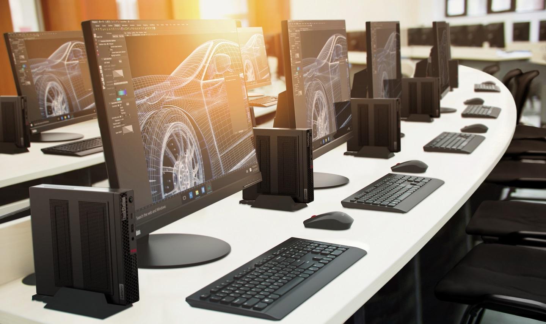 Новое семейство настольных рабочих станций Lenovo ThinkStation P350